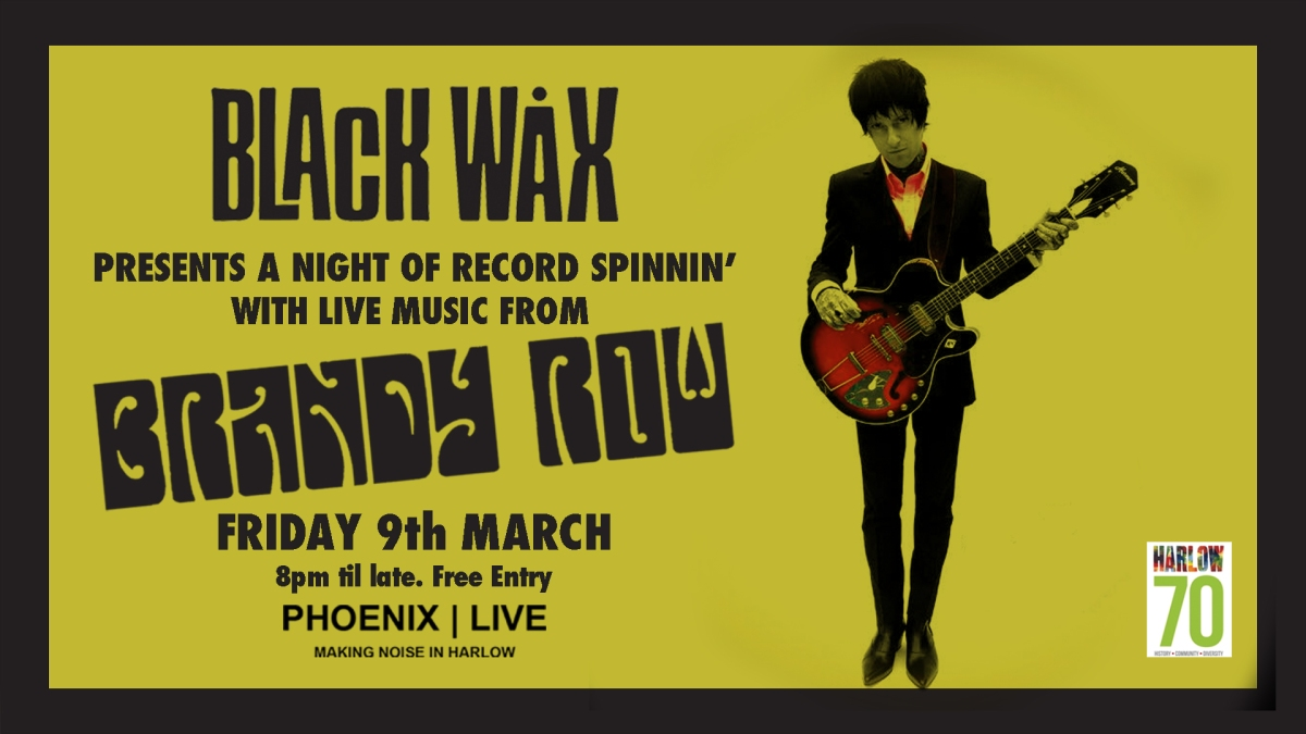 Black Wax is Back! One Night Only