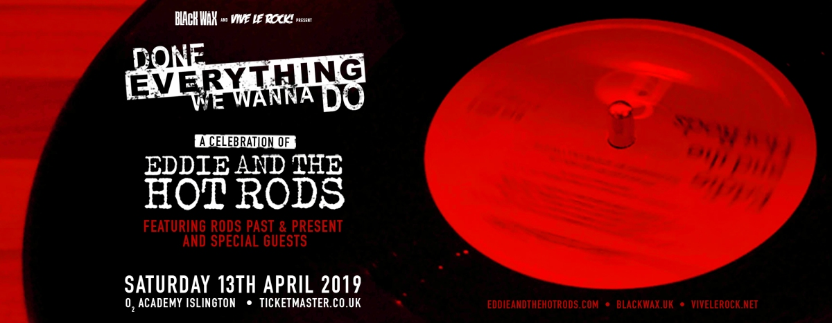 Eddie & The Hot Rods – Done Everything We Wanna Do
