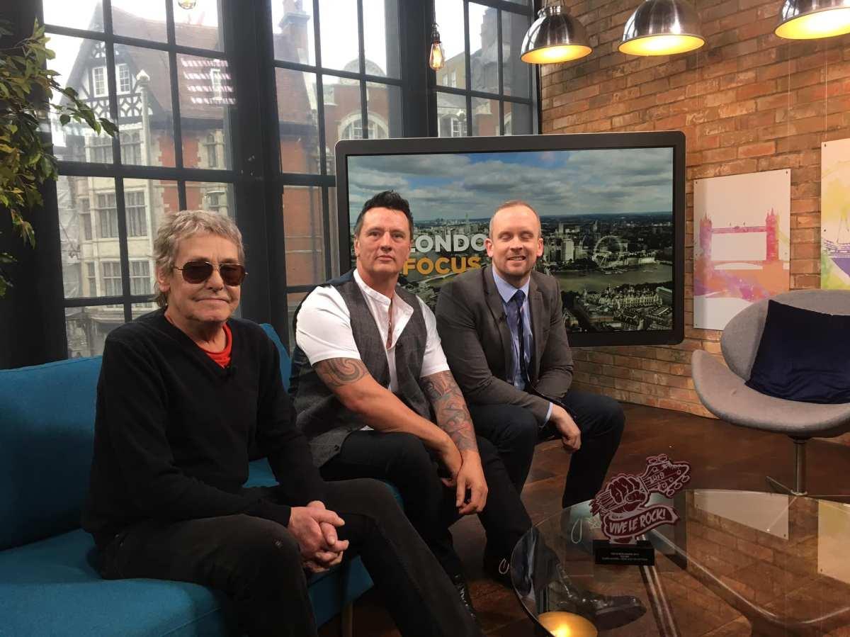 Eddie & The Hot Rods on London LiveTV